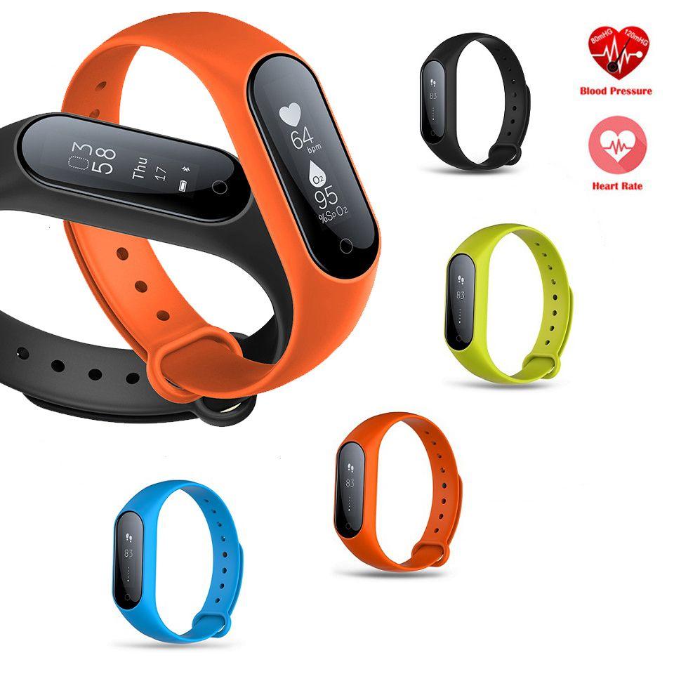 Vwar Y2 Plus Bluetooth Smart Armband Herzfrequenz Blutdruck Sauerstoffmonitor IP67 Wasserdichte Intelligente Armband für Android IOS