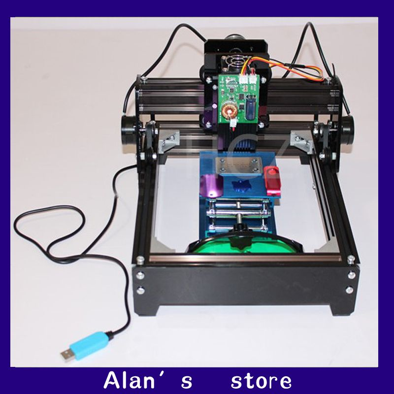 DIY mini laser 15W high power laser engraving machine metal machine, 15W laser module co2 laser marking machine