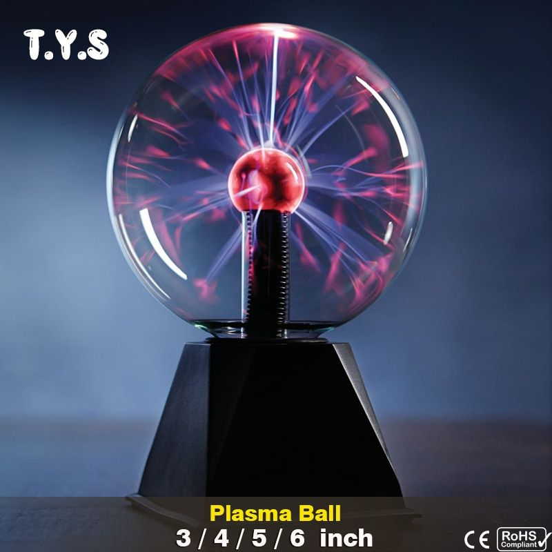 Touch Sensor Sphere Magic Plasma Ball Novelty Crystal lava lamp Creative light Graduation Kid Birthday Decor Gift Night Lighting