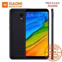 Mondial Version Xiaomi Redmi 5 plus 5.99 pouce 18:9 Plein écran Smartphone 3 GB 32 GB Snapdragon 625 Octa Core 4000 mAh MIUI 9.2.6