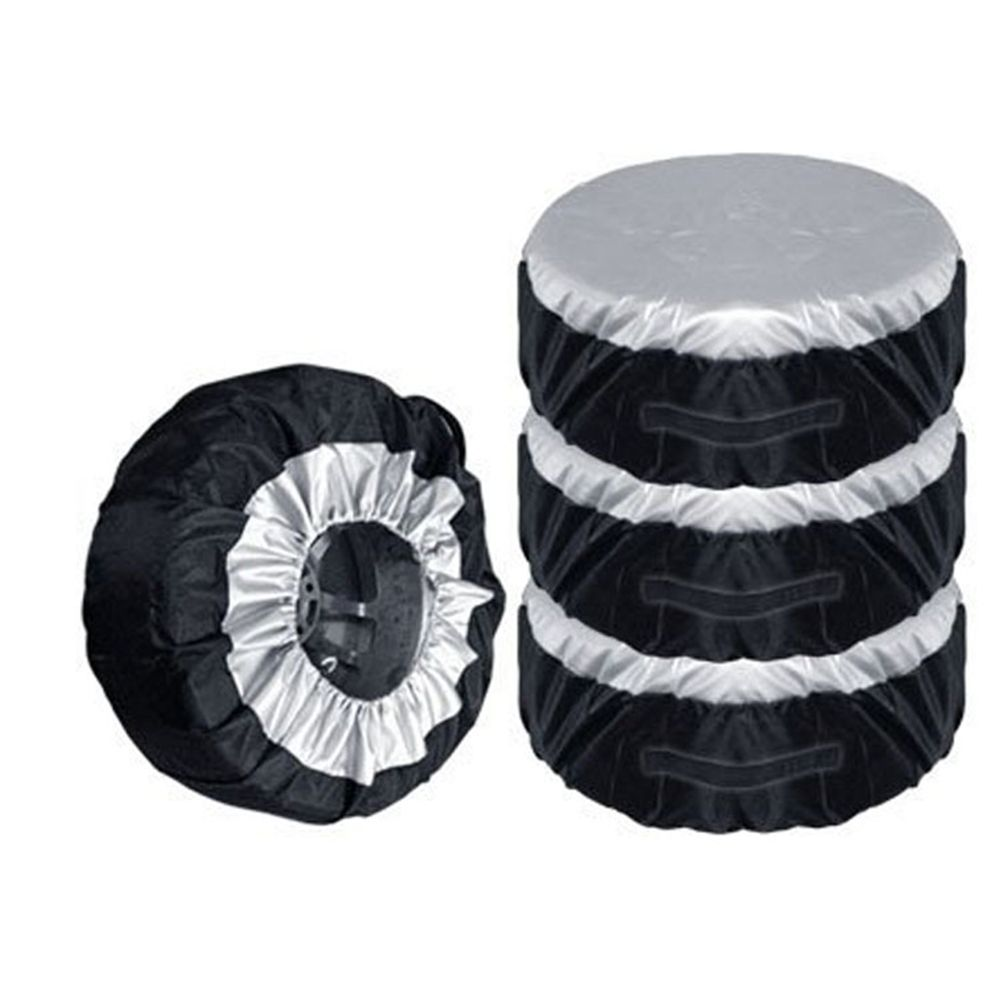 4Pcs Tire Storage Bags Seasonal Wheel Tire Protector Covers Car  For 13-20 Tires Car Van SUV Wheel Protector Tyre Accessories