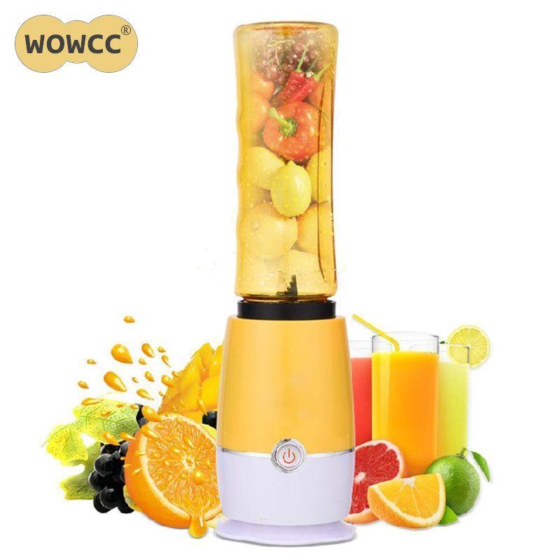 Creative Electric Juice Juicer Blender Kitchen mixer Drink Bottle Smoothie Maker Fruit Juice Maker EU Plug