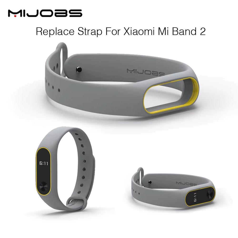 Ersetzen strap für xiaomi mi band 2 miband 2 silikon-armbänder für xiaomi band 2 smart armband 15 farbe für xiomi mi band 2