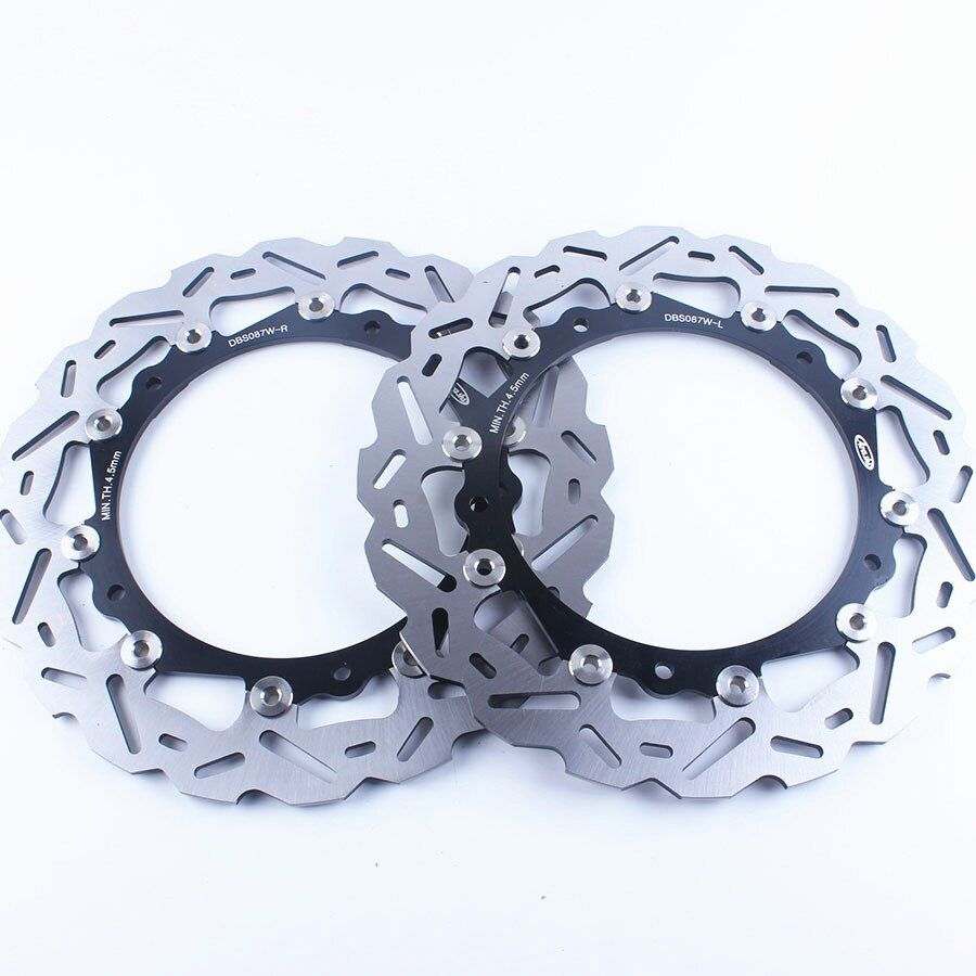 Motor Front Brake Disc Rotor For BMW S1000RR ABS 2009-2014 S1000R 2013-2015 2014 S1000RR 2009-2014 2010 2011 2012 Black