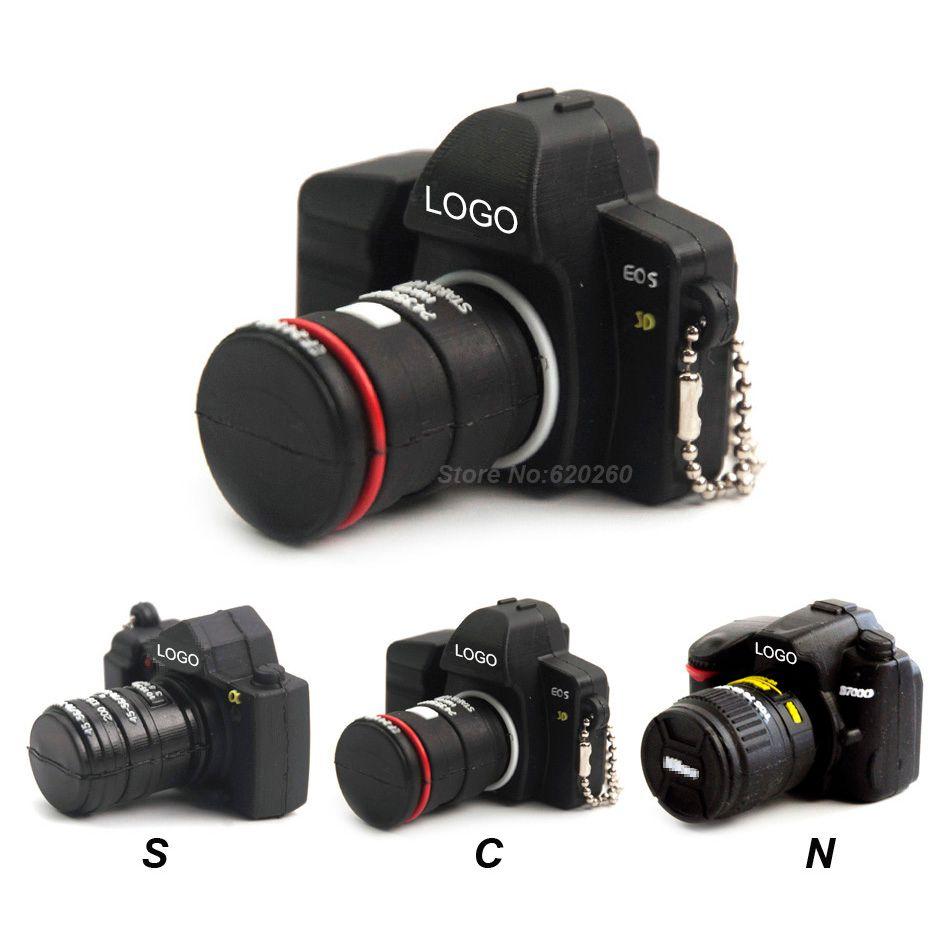 64GB Camera shape usb flash drive memory pendrive stick 32GB/4GB/8GB/16GB USB Flash Pen Drive Memory Stick Thumb Camera gift!