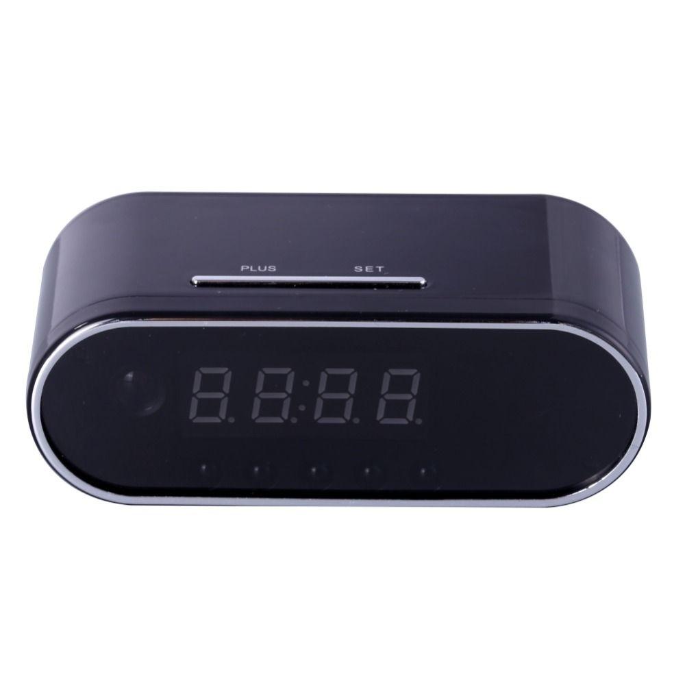 Эдал 1080 P H.264 настольные часы Камера сигнализации мини Камера ИК Ночное видение wi-fi-камера IP часы Камера Mini DV видеорегистратор видеокамера
