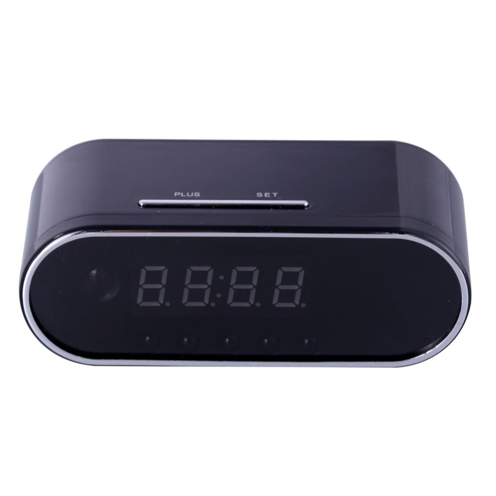 EDAL 1080 P H.264 Tableau Horloge Caméra Réglage de L'alarme Mini Caméra IR nuit Vision Wifi Cam IP Horloge Caméra Mini DV DVR Caméscope
