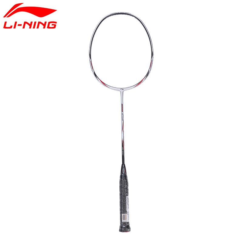 Li-Ning UC9000 Badminton Rackets Sliver Offensive and Defensive Carbon Fiber LiNing Racquet AYPJ112 with 1 Free Grip L743