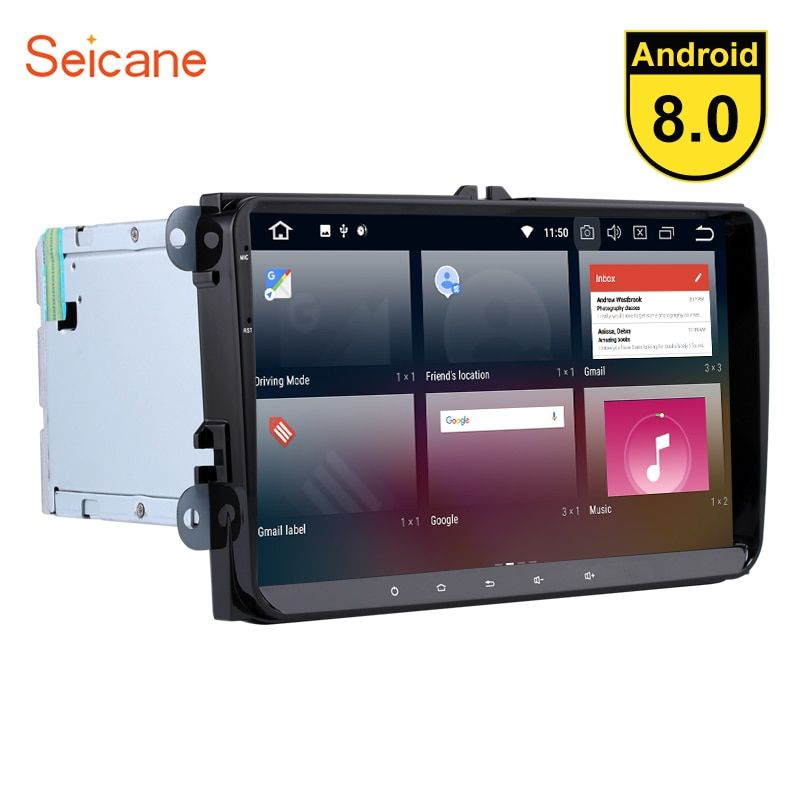 Seicane 9 inch 2 din Android 8.0 8-core Car Radio GPS Navigation for VW Volkswagen Passat B5 B6 Golf plus mk5 Jetta POLO Tiguan