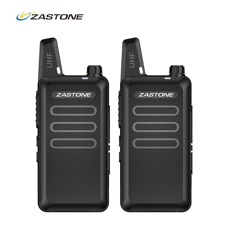 Zastone walkie talkie portable ham radio UHF 400-470MHz mini HF Transceiver Two Way Radio Communicator For Hunting Radio