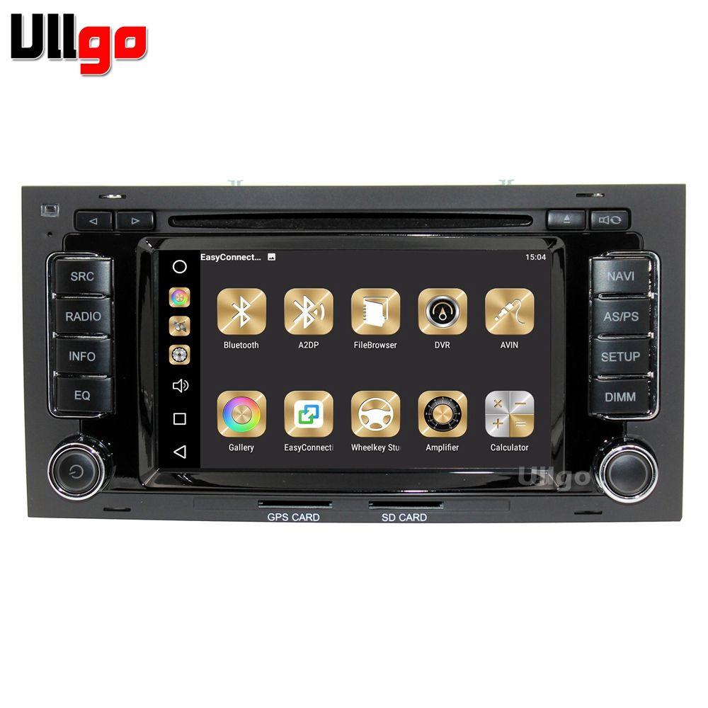 RAM 4g + ROM 32g Android 8.0 Auto DVD GPS für VW Touareg Multivan T5 Autoradio GPS Head Unit mit Radio RDS BT Spiegel-link Wifi