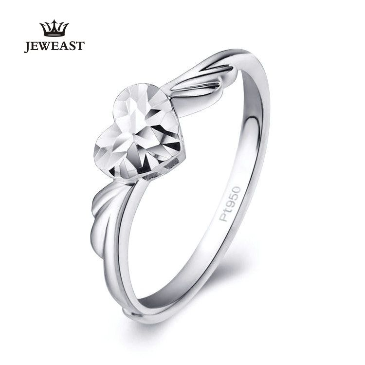 Pt950 Pure Gold Ring Real Solid Gold Rings Good Beautiful Upscale Trendy Classic Party Fine Jewelry Hot Sell New 2018