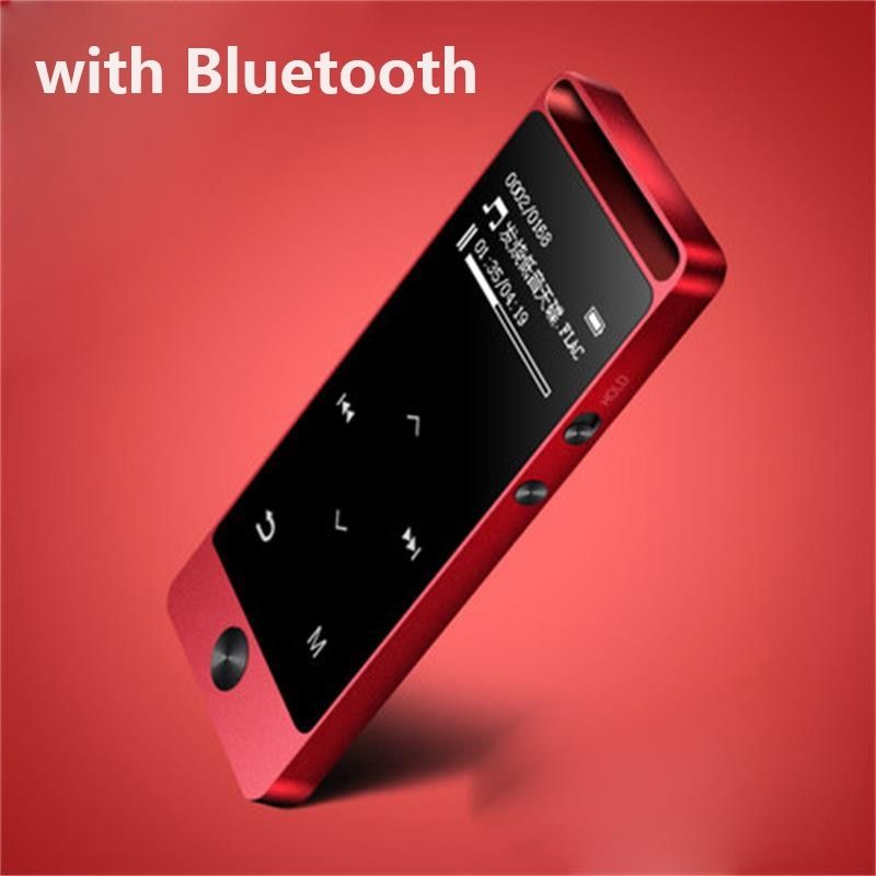 2017 Latest Version Bluetooth mp3 music player Touch Screen Original BENJIE S5B 8G Lossless Sound Support FM Radio Micro SD Card