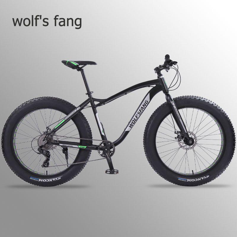 Wolf fang neue Fahrrad mountainbike 26 zoll Fett Bike 8 geschwindigkeiten Fett Reifen Schnee Fahrräder Mann bmx mtb rennräder kostenloser versand