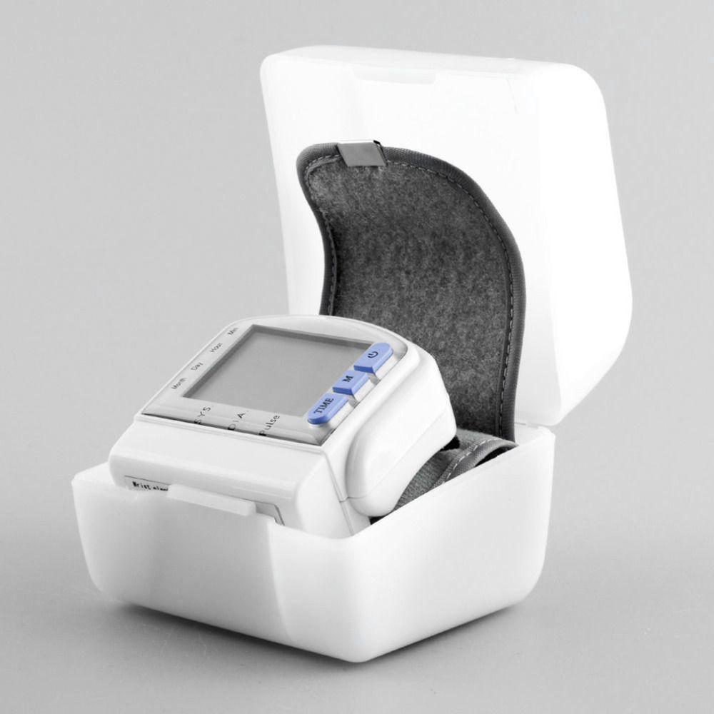 High Quality Digital wrist bp Blood Pressure Monitors meters tonometer sphygmomanometer cuff automatic health care monitors
