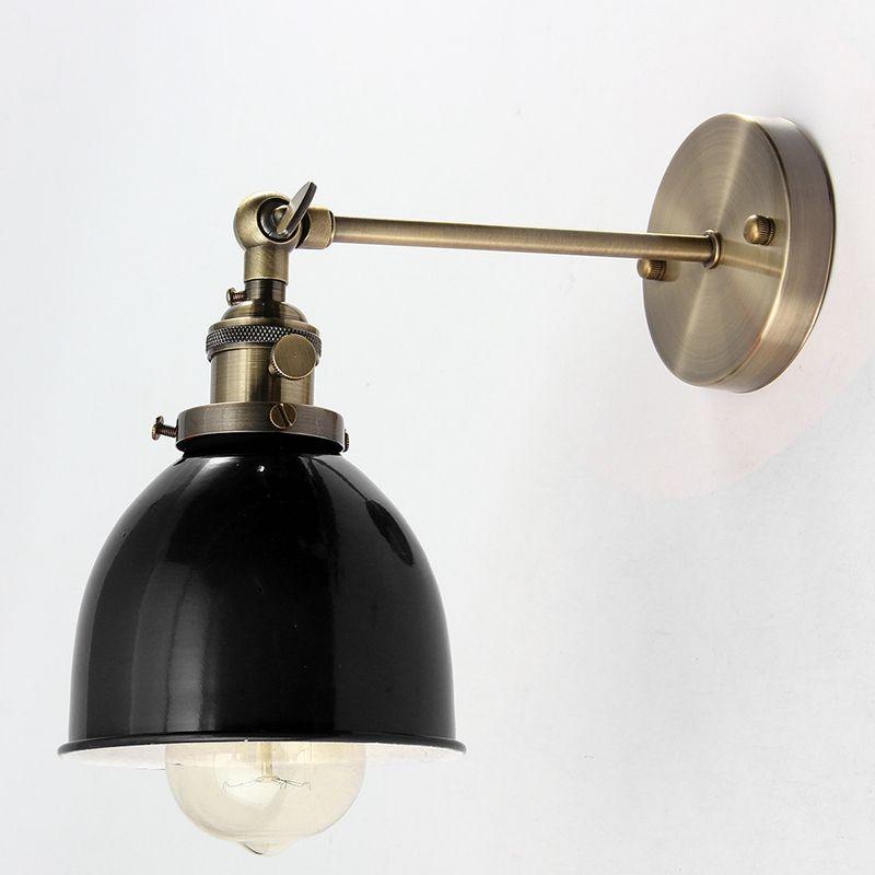 Bunte E27 Moderne Bunte Retro Vintage Wandleuchte Loft Wand Glühbirne Lampshape Abdeckungen Für Cafe Bar Kaffee 110-240 V