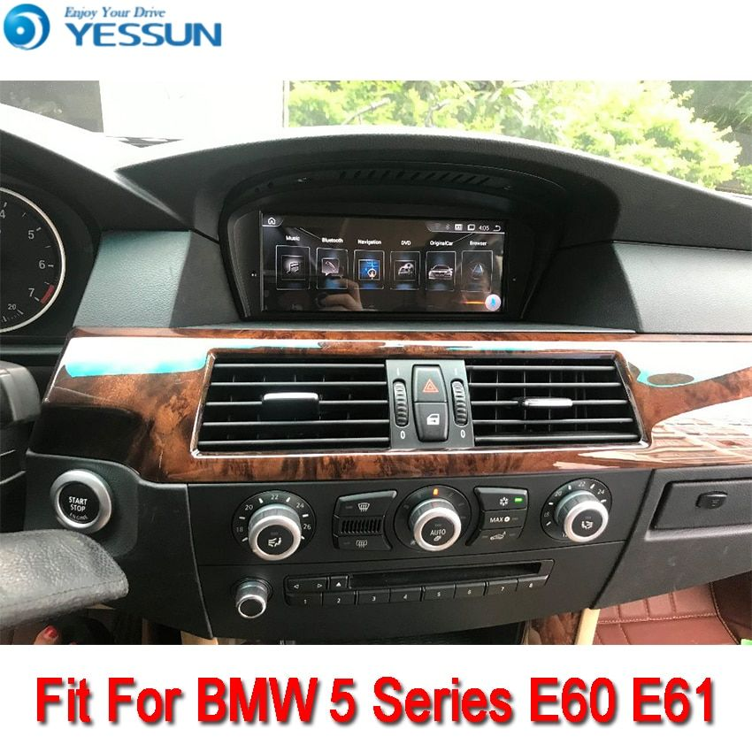 YESSUN For BMW E60 2003~2010 Android Car Navigation GPS HD Touch Screen Stereo Player Multimedia Audio Video Radio Navi