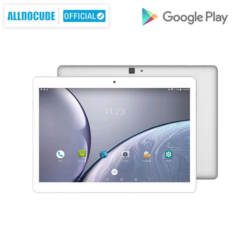 ALLDOCUBE M5X 10,1 Zoll Android 8.0 Tablet PC MTK X27 2560*1600 IPS Deca core 4G Anruf Tabletten 4GB RAM 64GB ROM Dual WIFI