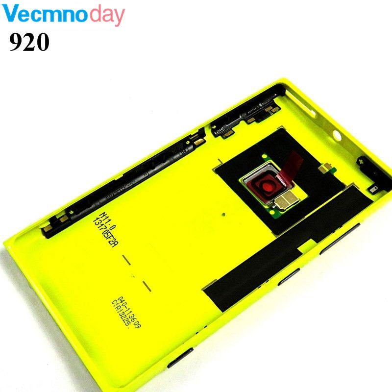Vecmnoday Original Housing Battery Back Door Cover Case For Nokia lumia 920 N920 Replacement Parts
