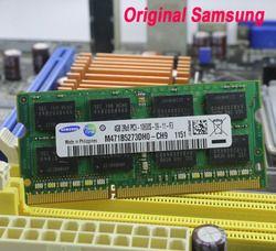 D'origine Samsung mémoire D'ordinateur Portable DDR3 4 GB 2 GB 1 GB 1066 1333 1600 MHz PC3-10600 8500 12800 RAM portable 10600 S 2G 4G pour intel amd