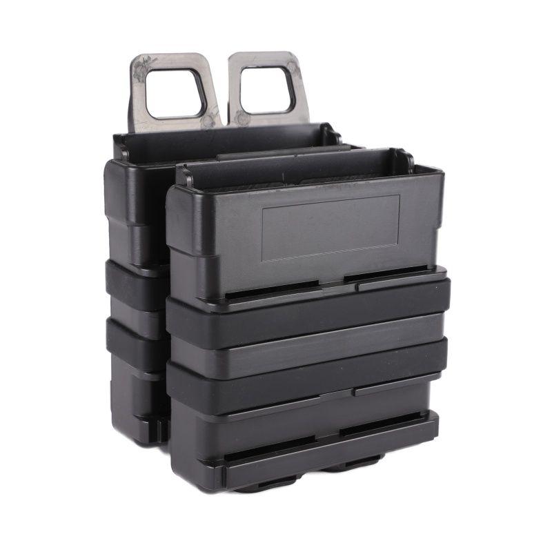 Tactical 7,62 SCHNELLE MAG schnell ziehen Magazin Tasche modul kombination zwei sätze für jagd Airsoft waregame Weste zubehör