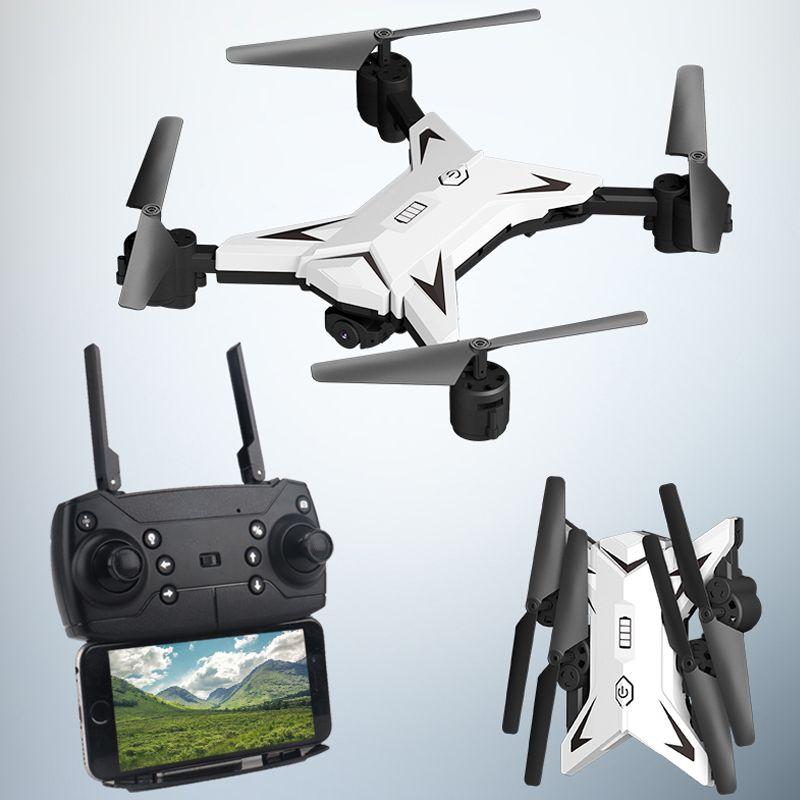 Nouveau Drone hélicoptère RC avec caméra HD 1080P WIFI FPV Drone professionnel pliable quadrirotor 20 Minutes d'autonomie