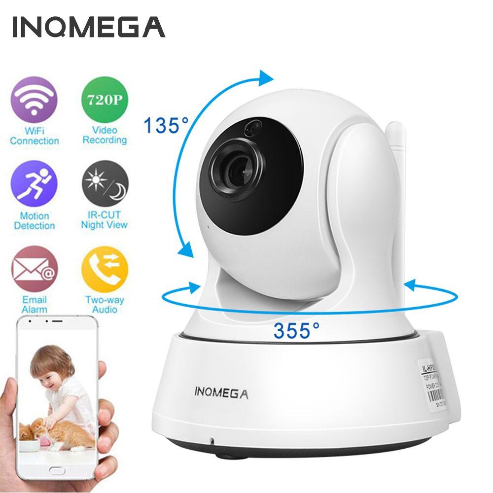 INQMEGA 720P IP Camera Wireless Wifi Cam Indoor Home Security Surveillance CCTV Network Camera Night <font><b>Vision</b></font> P2P Remote View