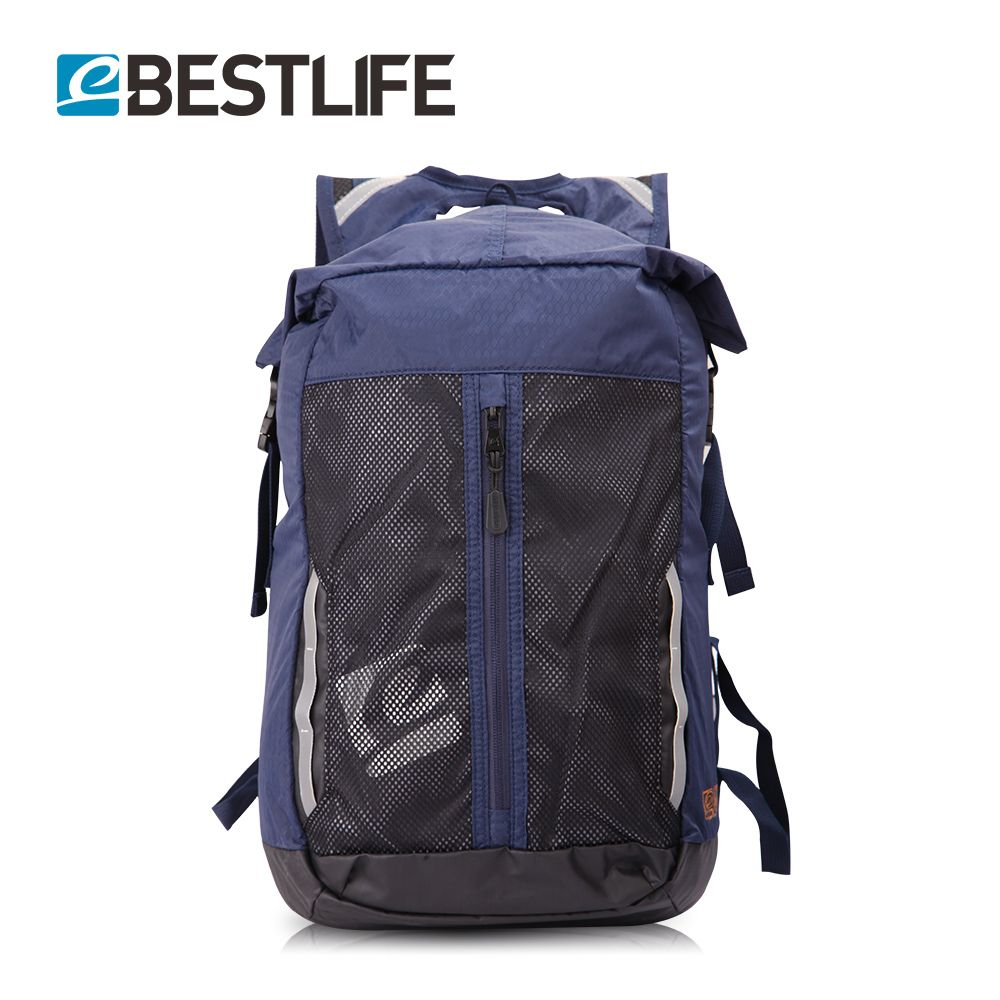 BESTLIFE Light Weight Travel Bicycle Backpack Flap Pocket Rugzak Small Duffle School Bags <font><b>Portable</b></font> Rucksack Mochila Masculina