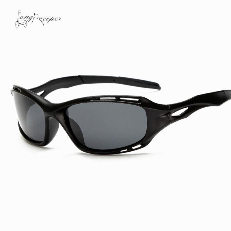 LongKeeper Retro Radfahren Sonnenbrillen Herren Nachtsicht Polarisierte Sonnenbrillen Outdoor Radfahren Brille Sportbrillen Sonnenbrille 104