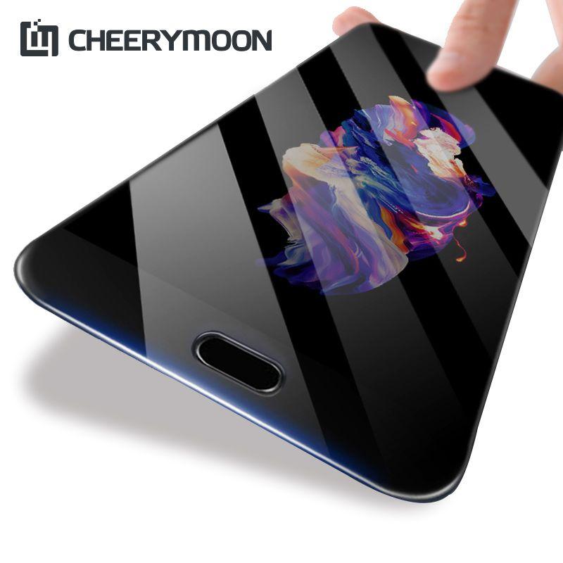 CHEERYMOON Real 3D Volles Kleber Für Sony Xperia XZS XZ Premium XZP 5,5 zoll Full Cover Telefon Film Displayschutz Gehärtetem Glas