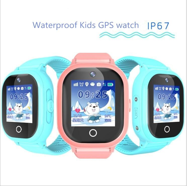 2017 new GPS tracking watch for kids IP67 waterproof GPS Smart Watch swimming camera children Watch touch Screen SOS Call TD-05