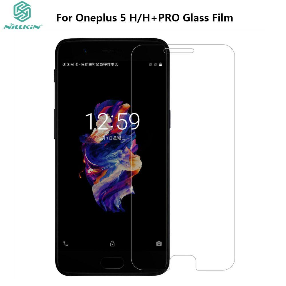 Oneplus 5 verre trempé NILLKIN 9 H étonnant H H + PRO protecteur d'écran en verre trempé Anti-Explosion pour Oneplus 5 One Plus 5 A5000