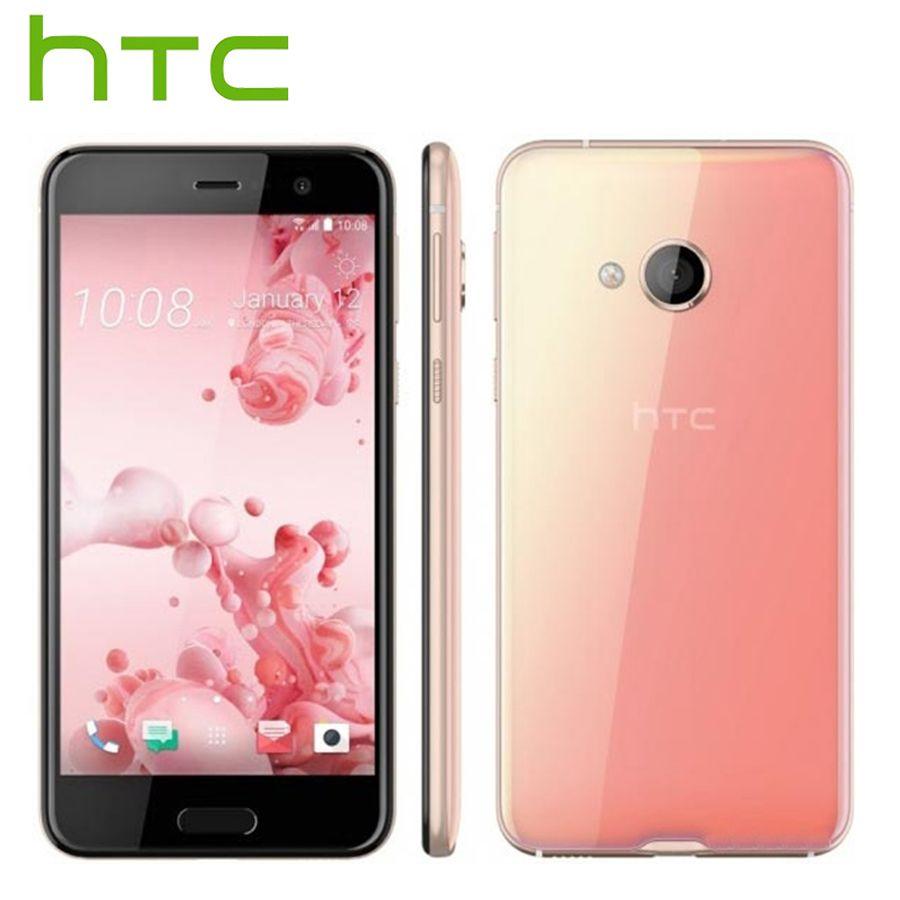 Tout nouveau HTC U Play 4G LTE téléphone Mobile 3 GB RAM 32 GB ROM Octa Core 5.2 pouces FHD 1080 P 16MP Android téléphone intelligent d'empreintes digitales