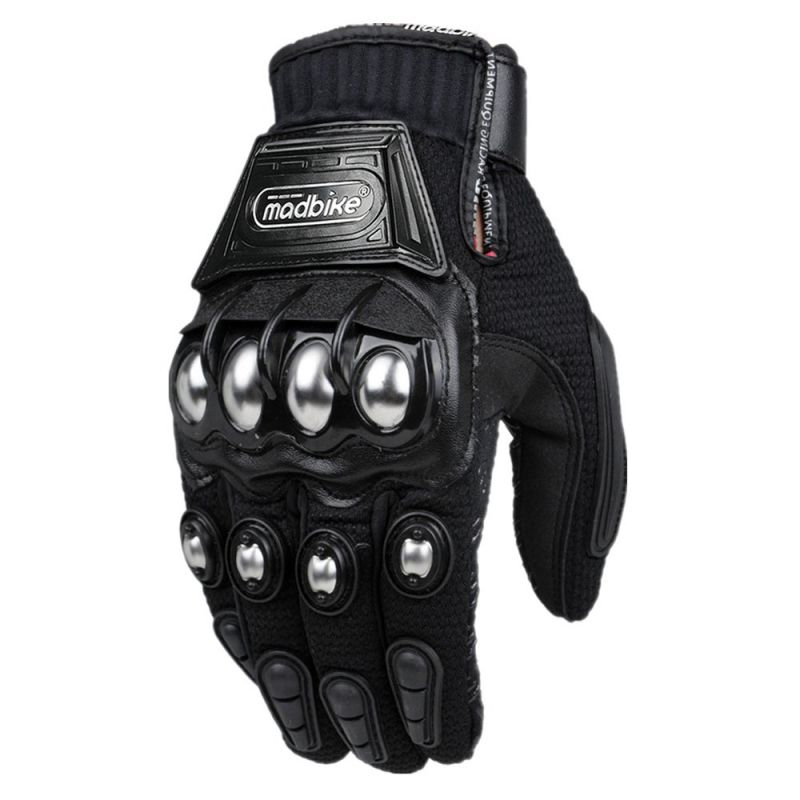 Alloy <font><b>Steel</b></font> Madbike Motorcycle Gloves Touch Screen Racing Guantes Motorbike Luvas Motosiklet Eldiveni Os carros Eletricos Gloves