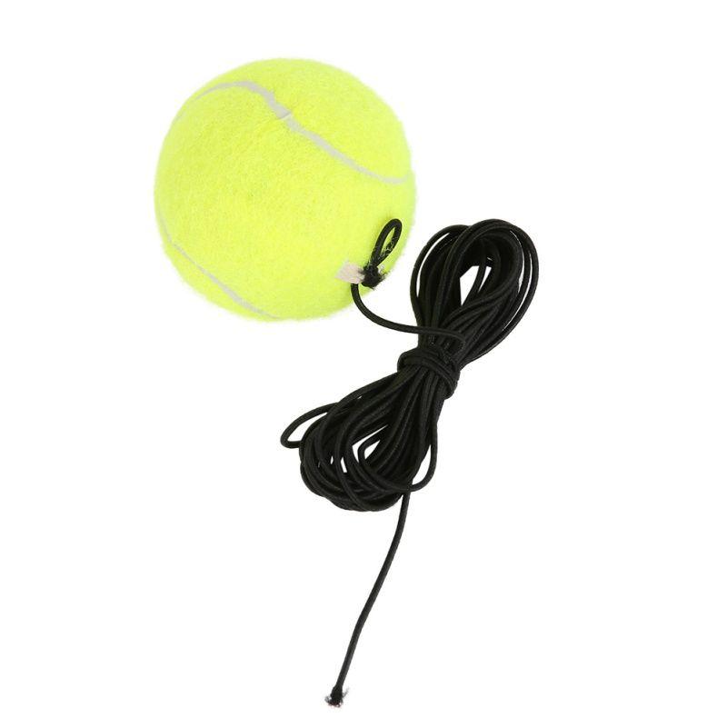Fitness Gürtel mit Gummiband Trainings-Praxis Ball Elastischen Seil Tennisbälle Trainer
