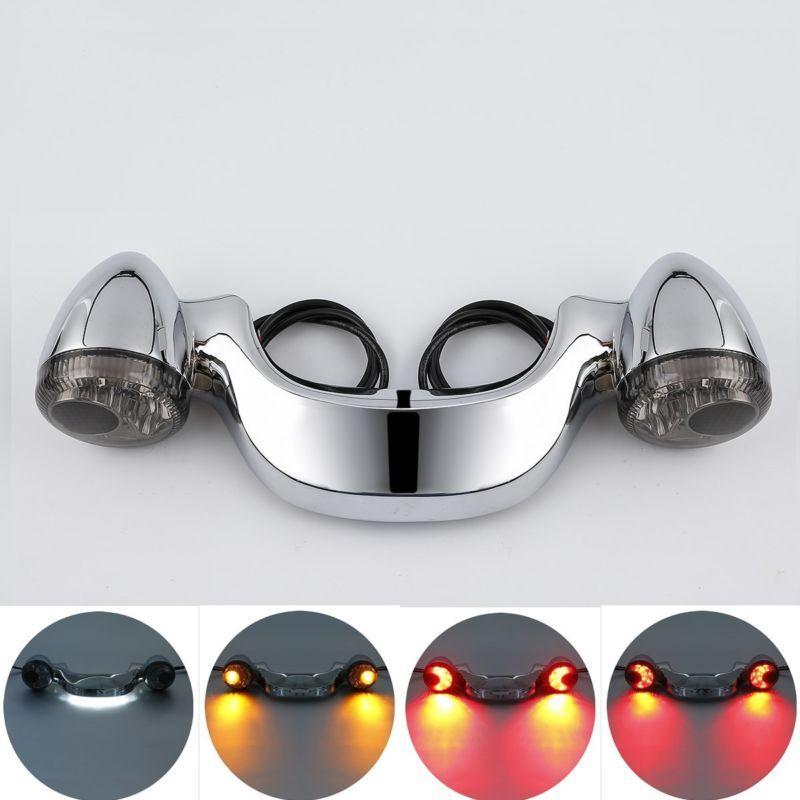 Neue Hinten Blinker Bremse Licht Bar Für Harley Street Glide Road Glide 10-16 FLHX FLTR 3 Farbe verfügbar