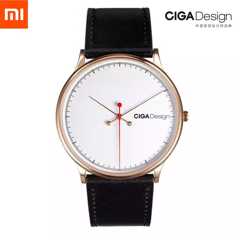 Men's Watch S Series Xiaomi CIGA Design Wristwatch Reddot Winner Watch Fashion Simple Retro Leisure Leather Couple Quartz Clock
