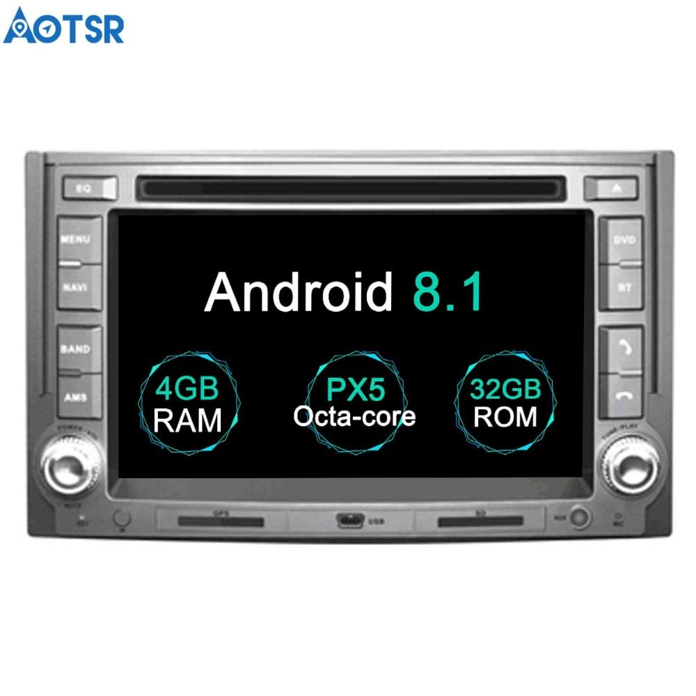 Aotsr Android 8.1 GPS navigation Auto DVD Player Für IMAX ILOAD 2008 + H1 2007 + multimedia 2 din radio recorder 4 GB + 32 GB 2 GB + 16 GB