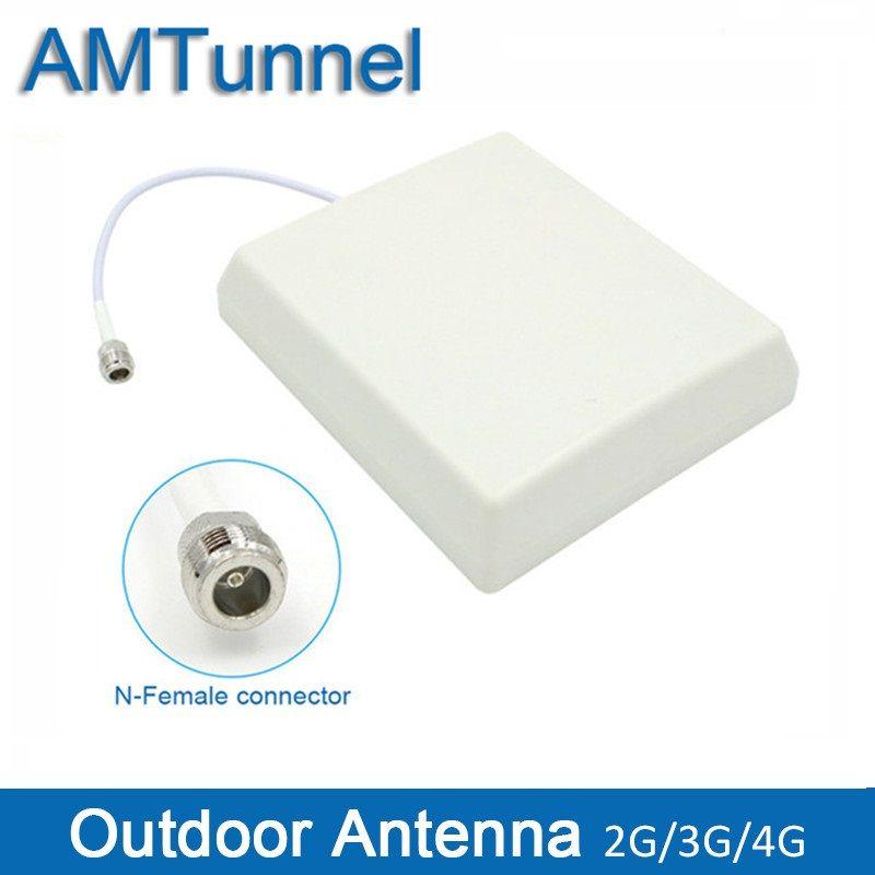 GSM 3g antenne extérieure LTE1800MHz 850 mhz 900 mhz Panneau externe antenne 3g N-connecteur femelle pour téléphone portable booster répéteur