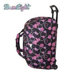 Bomlight Мода Водонепроницаемый чемодан толстый стиль прокатки чемодан на колесиках для женщин и мужчин дорожные сумки чемодан с колесиками