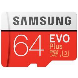 Remises à bas prix D'origine Samsung Evo + Plus C10 SDHC Carte Carte mémoire Classe 10 64 GB SDXC U1 Cartao SD Mémoire Flash carte