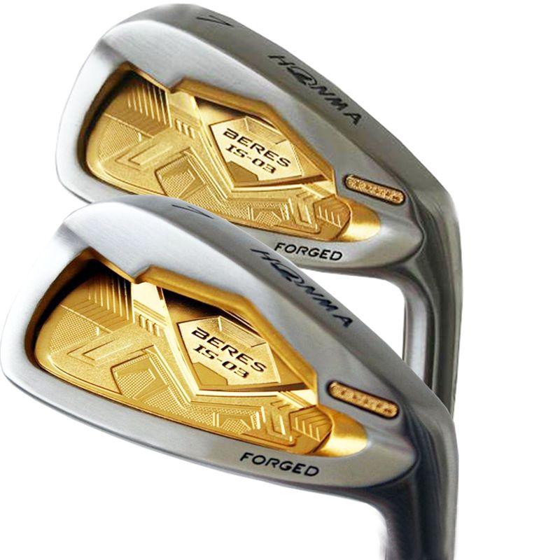 Cooyute mens Golf Clubs HONMA irons S-03 4star Golf irons set 5-11 Aw Sw Club Irons Graphite Golf shaft Golf Set Free shipping