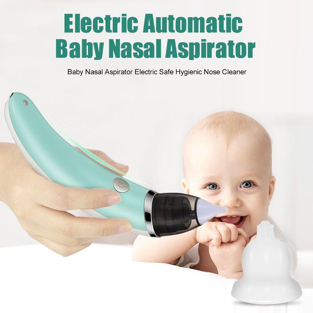 Aspirateur Nasal pour bébé nettoyant électrique pour le nez équipement de reniflement nettoyant hygiénique pour le nez pour nouveau-né enfant en bas âge