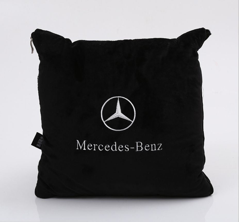 New High-quality Car Styling car pillow quilt For Mercedes- Benz W203 W210 W211 W204 AMG B C E CLA GLK GLC ML Class accessories