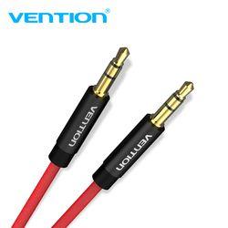 Vention cable Aux 3,5mm Cable de Audio 3,5mm Jack macho a macho Cable auxiliar para el coche iPhone 7 auriculares altavoz estéreo cable Aux cable