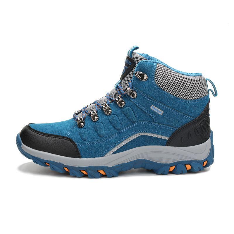 Elfe de la nuit hommes randonnée chaussures femmes respirant en cuir en plein air sneakers 2016 d'hiver escalade sport amateurs de marche trekking chaussures