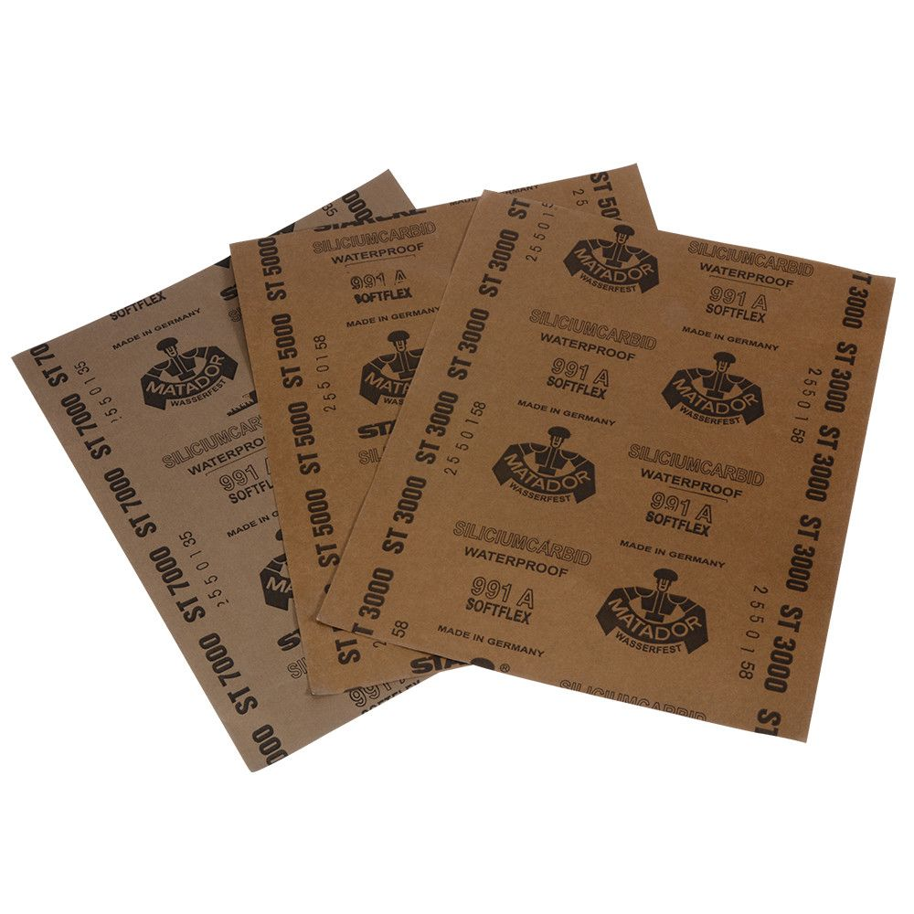 Grit 3000 5000 7000 Wet and Dry Sandpaper Polishing Abrasive Waterproof Paper Sheets HT171-173