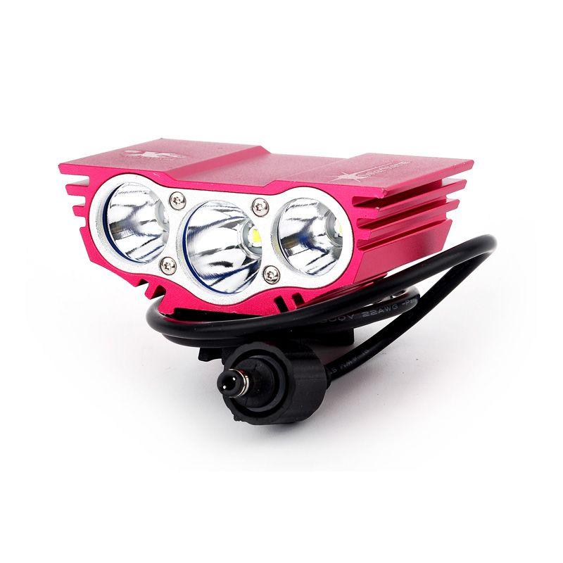 6000 Lumen 3 x CREE XM-L U2 T6 LED Bike Light Bicycle Front light LED Headlamp HeadLight Waterproof Aluminum alloy