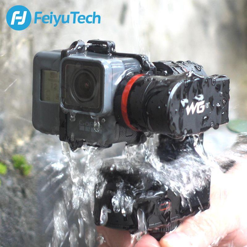 FeiyuTech WG2 Wearable Mountable Gimbal 3-axis Waterproof Stabilizer for GoPro hero 6 4 5 Session YI 4K SJCAM AEE Action Camera