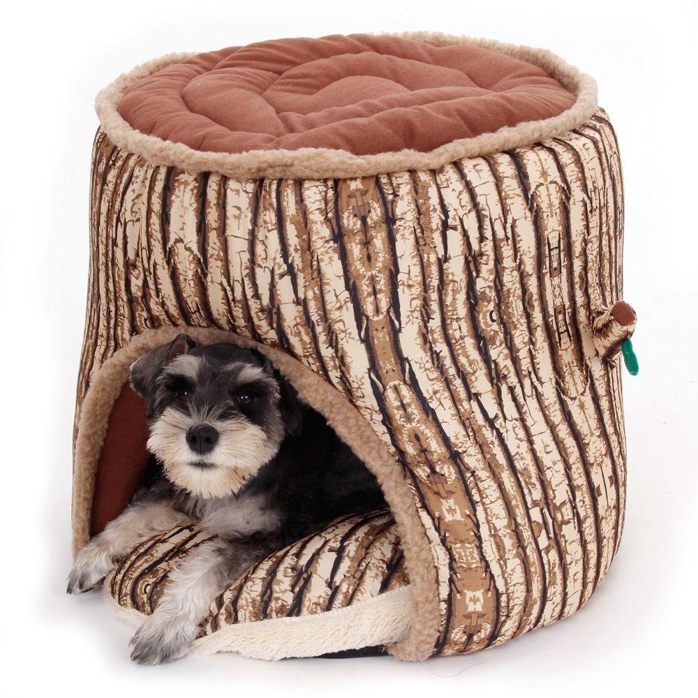 Animal de compagnie chien lit chat chien maison hiver chaud arbre forme chien chenil doux épaissir chiot chat coussin canapé lit tapis Pet fournitures